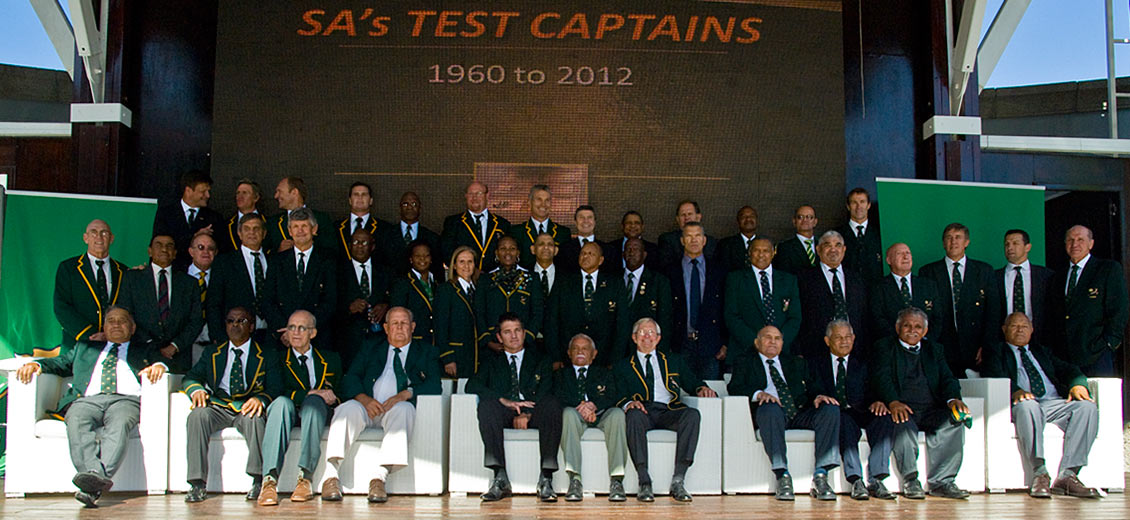 Springbok Captains'