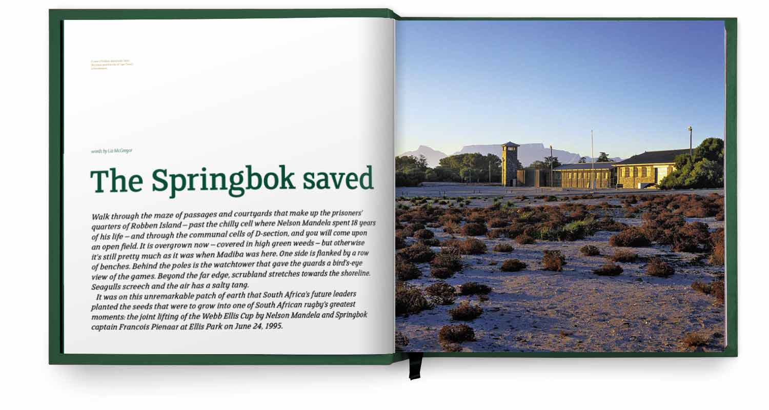 Pages Springbok Saved section of the Springbok Opus